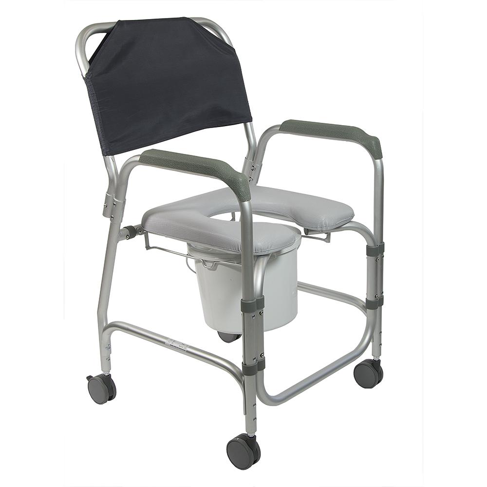 Chaise perc e mobile douche et toilette mahina dupont m dical - Chaises percees de toilette ...